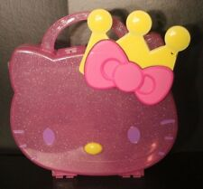 Hello Kitty With Crown- Pink Plastic Storage Box