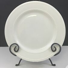 """NEW Set of 4 Ciroa Chef's Collection Embossed 10.5"""" Porcelain Dinner Plates"""