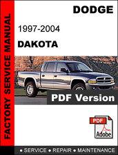 DODGE DAKOTA 2005 - 2009 FACTORY OEM SERVICE REPAIR WORKSHOP SHOP FSM MANUAL