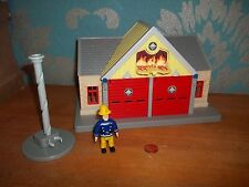Fireman Sam Fire Station Playset, Figure & Pole, Complete, See Others & Combine