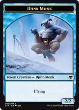 Djinn Monk TOKEN x6 Dragons of Tarkir MtG NM pack-fresh