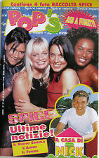 POP'S 27 1998 Spice Girls Nick Carter Ultra Nek 911 Natalie Imbruglia