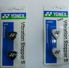 YONEX Pack of 2 Tennis Racquet Racket Vibration Dampners Stoppers, AC165EX,
