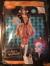 Adult Movie Alice in Wonderland Sexy Red Queen Costume size Large 12-14
