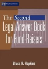 The Second Legal Answer Book for Fund-Raisers, Hopkins, Bruce R., Good Book