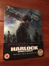 Harlock Space Pirate (Blu Ray 3D/2D/DVD Steelbook, UK, Region B)