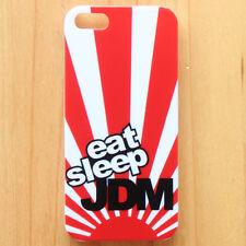 EAT SLEEP JDM Rising Sun Drift Hellaflush Illest Back Case Cover For iPhone 5 5S