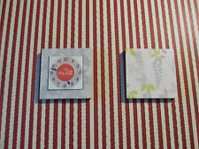 DOLLS HOUSE MINIATURE WALL CLOCK AND PICTURE A23