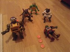 collection of teenage mutant ninja turtles figures