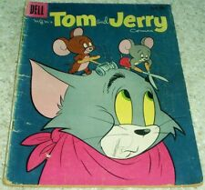 Tom and Jerry 186, VG- (3.5) 1960, 50% off Guide!