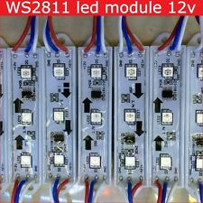 20pcs WS2811 led pixel module RGB 5050 Addressable waterproof 3leds string Sign