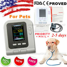 2016 Digital Veterinary Blood Pressure Monitor NIBP cuff,Dog/Cat/Pets,US seller