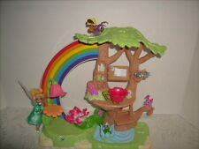 Disney Fairies Tinkerbell Tree House Playset with Tinkerbell Doll Jakks 11'' H