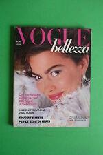 VOGUE ITALIA BELLEZZA N.13/1984 SANTE D'ORAZIO CHICO BIALAS CHRIS CALLIS