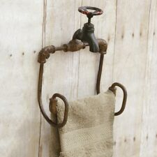 NEW FAUCET TOILET PAPER TOWEL HOLDER Hand Towel Bar Wall Rack Metal  Country