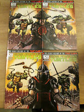 TEENAGE MUTANT NINJA TURTLES FOOT CLAN 1 2 3 4; Jetpack Comics variant Eastman