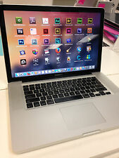"Apple MacBook Pro 15.4"" 2.4 GHz 500GB Loaded* Office / Adobe CS6 / Final Cut Pro"