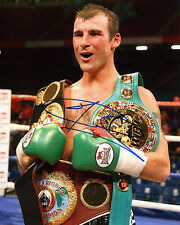 Joe calzaghe-ancien super-champion-signé autographe reprint