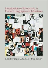 Introduction to Scholarship in Modern Languages and Literatures, , Good Book