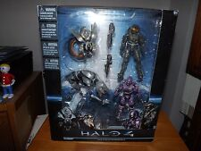 HALO 4 COLLECTOR BOXED SET 2, WATCHER, CRAWLER, MASTER CHIEF, SPARTAN, NIB, 2012