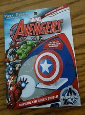 NEW Metal Earth Marvel Avengers Capt Americas Shield Laser Cut 3D Model Kit