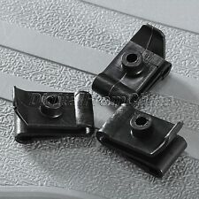 50 X 5mm Hole Plastic Plug Fastener Hood Prop Rod Support Clips for Toyota Mazda