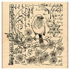 PENNY BLACK RUBBER STAMPS SONG OF JOY STAMP NEW 2013