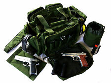 "NEW Green 20"" NATO Tactical ® Gun Pistol Range Gear shoot hunting Nylon Duffle"