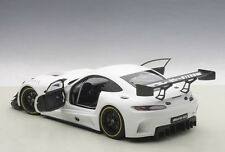 Autoart MERCEDES BENZ AMG GT3 PLAIN BODY VERSION MATT WHITE COMPOSITE 1/18 New!