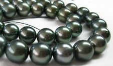 "Charming AAA 18""12-13mm genuine tahitian black pearl necklace"