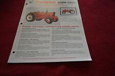 Belarus 500A 520A Tractor Dealer's Brochure DCPA2