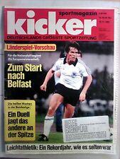 kicker Sportmagazin  Nr.: 92/46. Woche  15.11.1982