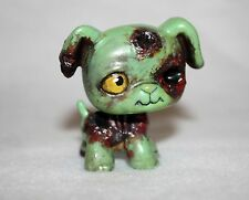 Littlest Pet Shop Custom Zombie Dog OOAK LPS Halloween