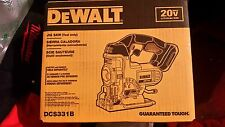 DEWALT DCS331B 20-volt Max Li-Ion Cordless Variable Speed Jig Saw  NEW in box