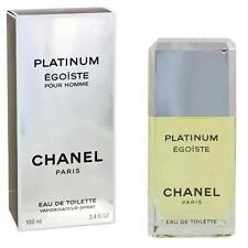 Egoiste Platinum di Chanel da uomo Eau de Toilette  ML100