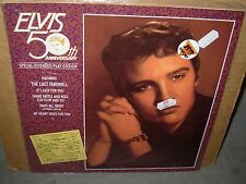 "ELVIS PRESLEY 50th anniversary ( rock ) - SEALED - 10"" -"