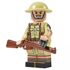 LEGO Custom United Bricks British Desert Rat WW2 Minifig Minifigure
