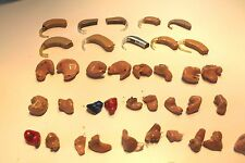 Lot 50 Hearing Aid Aids For Parts or Repair CIC ITC ITE BTE You Choose Various !