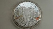 1993 Vietnam 100 Dong Elephant Silver Proof coin