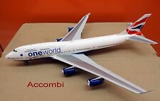 "Inflight 200 mould JC wings British Airways B747-400 'ONE WORLD"" 1:200"