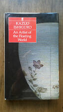 Kazuo Ishiguro– An Artist of the Floating World (1st/1st UK 1986 hb w dw) Booker