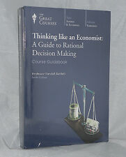 NEW Audio CDs 12 Lectures Thinking like an Economist Great Courses Teaching Co