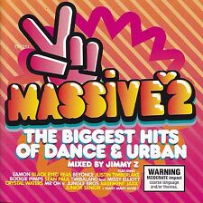 MASSIVE 2 Mixed By Jimmy Z CD - 2 Disc Set