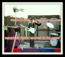 JIMI HENDRIX  PHOTO    8 x 10 MAUI  HAWAII HEAD TO TOE ARM TO SIDE RAINBOW STAGE