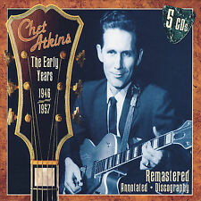 The Early Years 1946-1957 [Box] [Remaster] by Chet Atkins (CD, Jul-2007, 5...