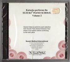 Suzuki Piano School Volume 2 CD only