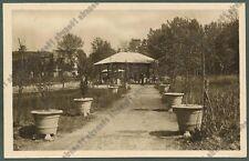 PAVIA MIRADOLO TERME 17 FONTE ACQUE MINERALI Cartolina viaggiata 1933 REAL PHOTO