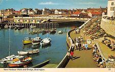 B103442 new harbour walk and bridge bridlington ship bateaux    uk