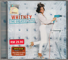 WHITNEY HOUSTON The Greatest Hits MALAYSIA LIMITED EDITION VIDEO CD NEW SEALED