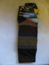 Smartwool men's casual socks Saturnsphere merino wool Large L LG colorful warm !